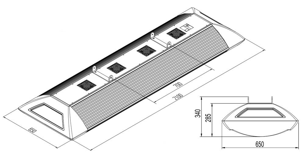 Maszeichnung-sunsky-Deckensolarium-Installation-Montage
