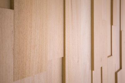 Abachi-Holz-kubistisch-Sauna